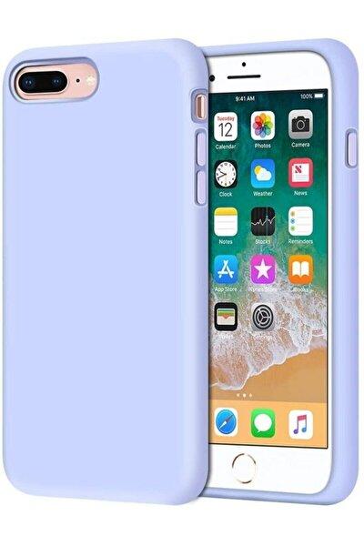 Iphone 7 Plus 8 Plus Içi Kadife Lansman Silikon Kılıf