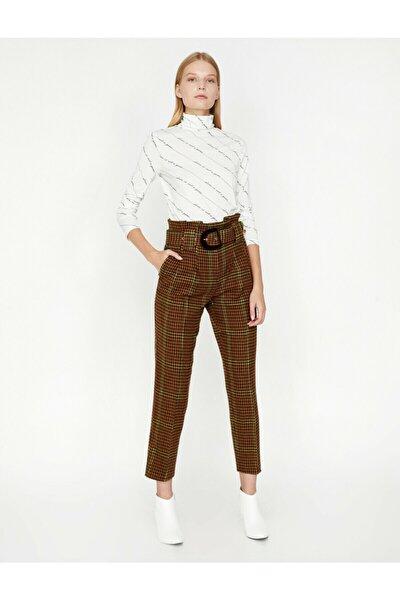 Kadın Kahve Love For Pantolon