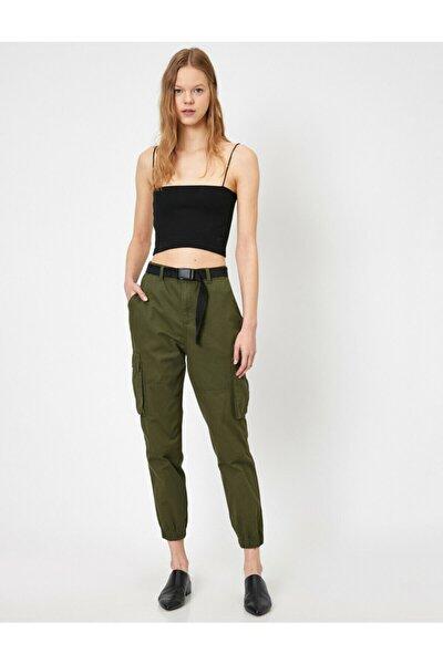 Kadın Yeşil Kargo Pantolon 0YAL48201OW