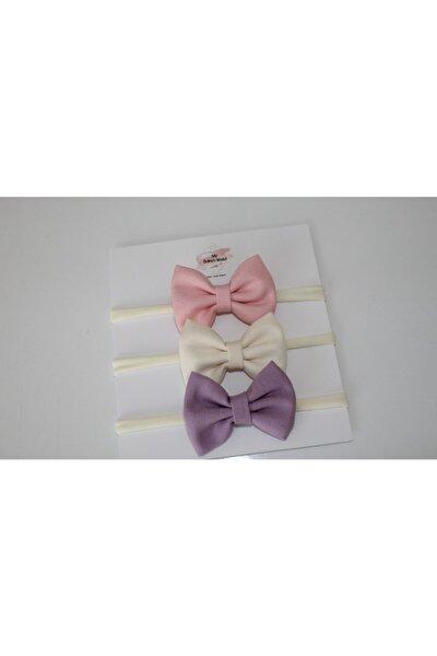 Bebek 3 Farklı Renk Bandana Takımı