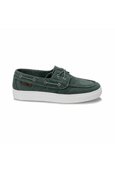 Camila Yeşil Kadın Erkek Günlük Keten Ayakkabı