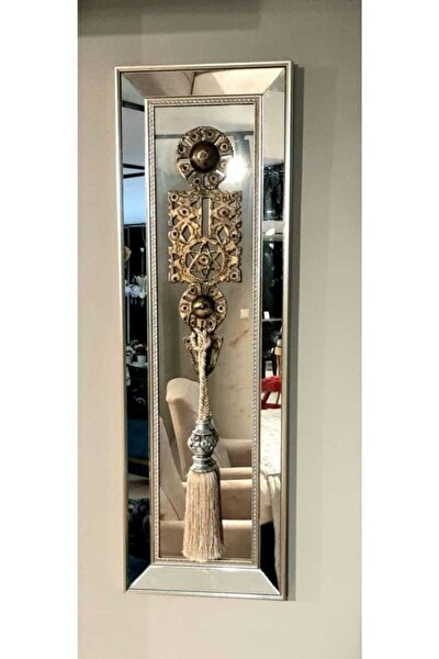 Pcs743 Gümüş Selçuklu Ayna Dekoratif Duvar Obje