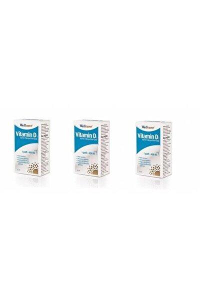 Vitamin D3 400 Iu Sprey 3 Adet Skt 11/2022