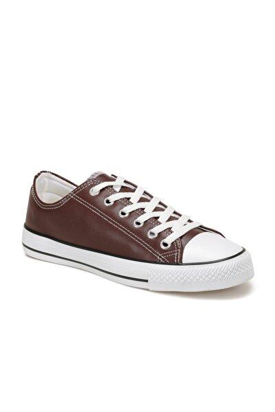 EC-2001 Bordo Erkek Kalın Tabanlı Sneaker 100669571