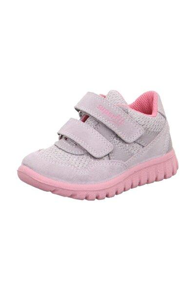 Kız Çocuk Gri & Pembe Sneaker