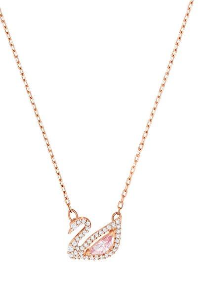 Kadın Kolye Dazzling Swan:Necklace Czmo/Ros 5469989