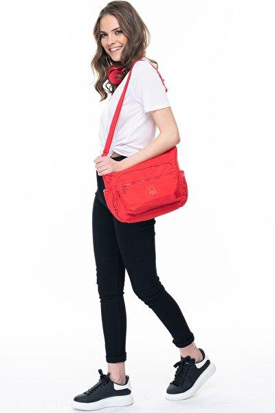 Kırmızı Kadın Postacı Çantası BNT223