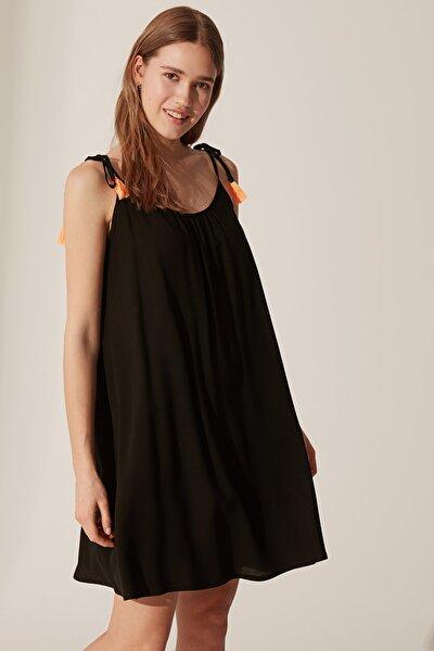 Kadın Yeni Siyah Elbise 0S1911Z8
