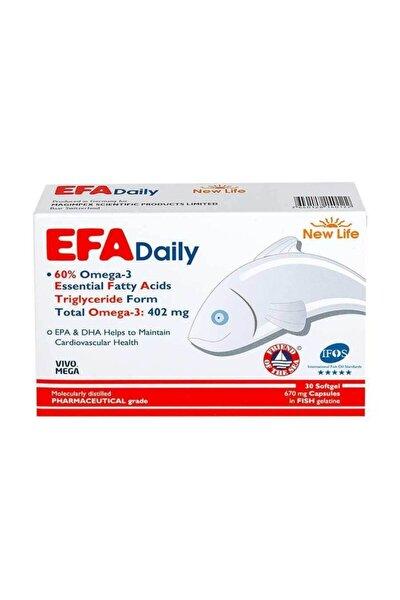Efa Daily Balık Yağı 30 Kapsül
