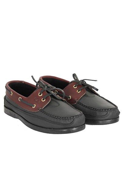 Erkek Bordo Deri Loafer Ayakkabı