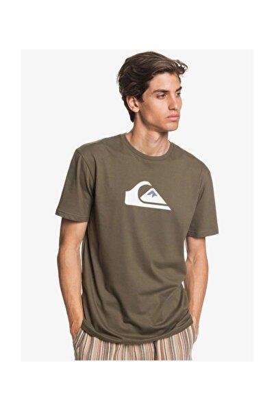 Haki Comp Logo Erkek T-shirt