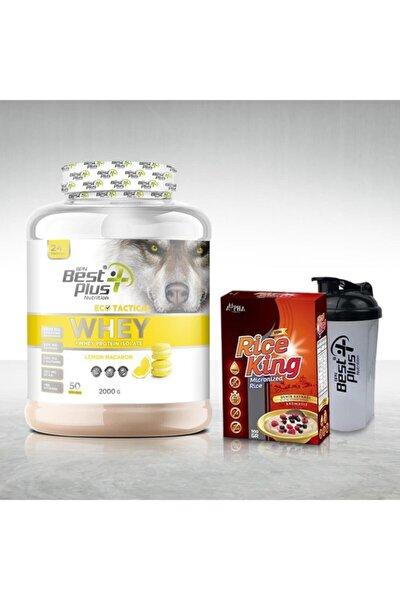 Eco Tactical Whey Protein Tozu 2000 Gr Lemon-macaron