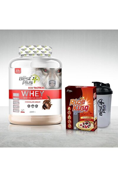 Eco Tactical Whey Protein Tozu 2000 gr Çikolatalı