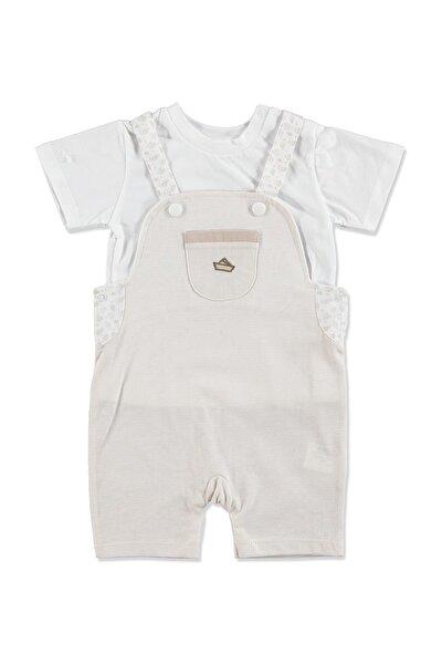 Yaz Erkek Bebek En Iyi Denizci Salopet Tshirt Takım