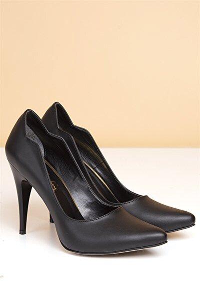 Pc-50181 Siyah Kadın Ayakkabı