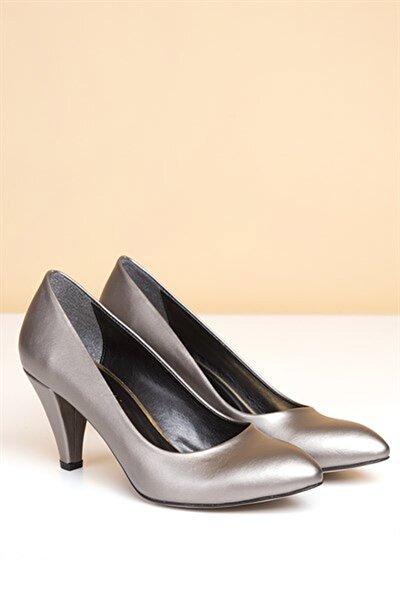 PC-50178 Platin Kadın Ayakkabı