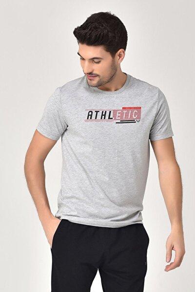 Gri Erkek T-shirt  GS-8812
