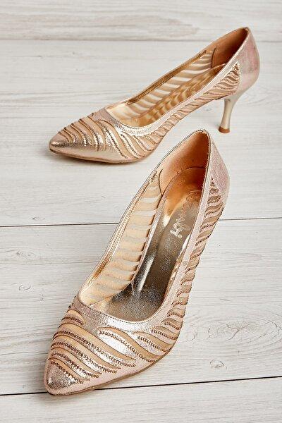 Dore Kadın Klasik Topuklu Ayakkabı L0727872736