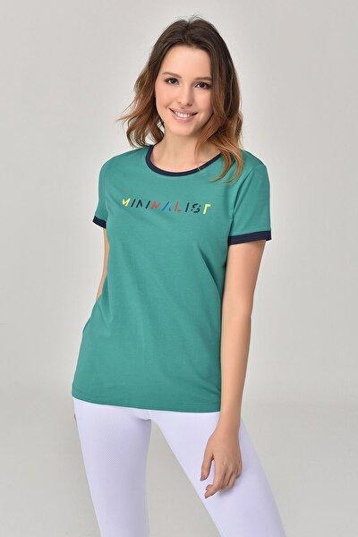 Yeşil Kadın T-Shirt GS-8070
