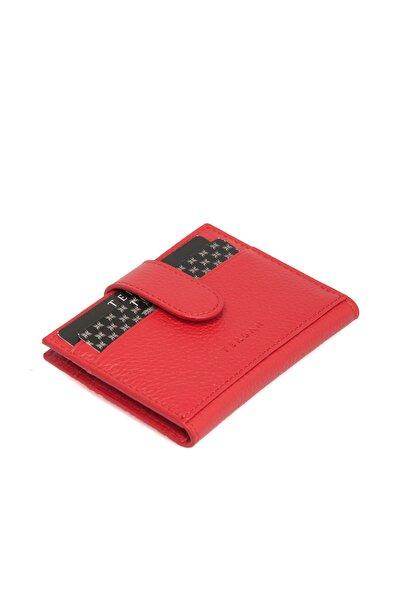 Hakiki Deri Kırmızı Erkek Kredi Kartlık S1KK00001617