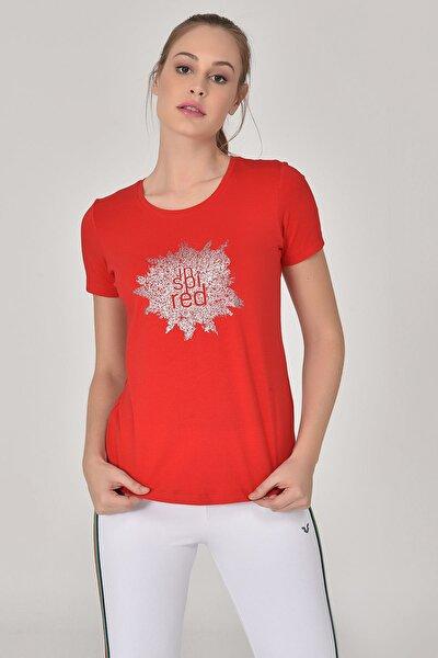 Kırmızı Kadın T-shirt  GS-8613