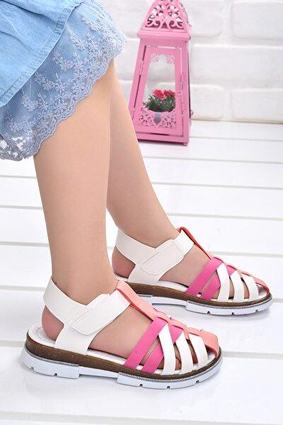 Kiko Şb 2430-39 Ortopedik Kız Çocuk Sandalet Terlik
