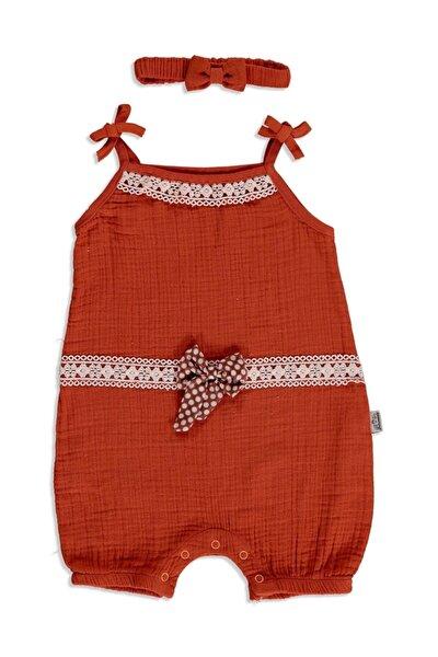 Yaz Kız Bebek Dantelli Müslin Ip Askılı Lastikli Modelli Yaka Tek Barbatöz