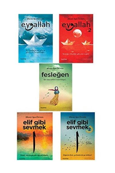 Fesleğen, Eyvallah 1- 2, Elif Gibi Sevmek 1-2 (5 Kitap Set)