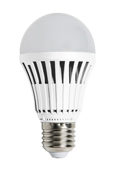 Şarjlı Led Ampul Beyaz (ışıldak - Elektrik Kesilince Yanar)