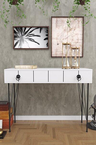 Asia Çekmeceli Dresuar Beyaz