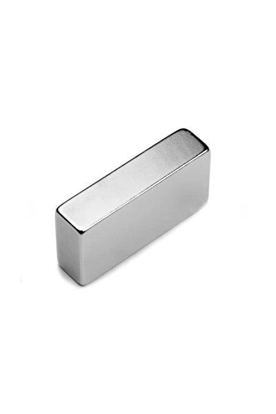 Mıknatıs, 40mm X 20mm X 10mm Köşeli Süper Güçlü Neodyum Mıknatıs