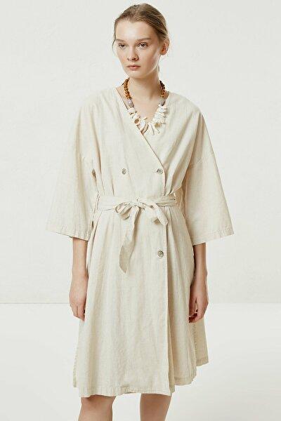 Kadın Ham Kruvaze Denim Elbise 0YKEL7164A