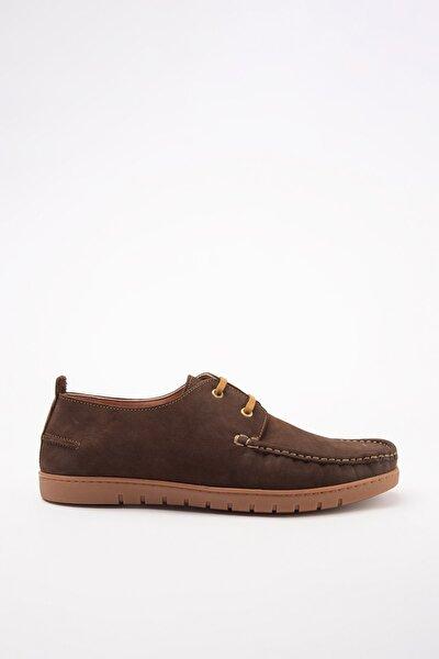 Hakiki Deri Kahve Erkek Klasik Ayakkabı 02AYY601050A480