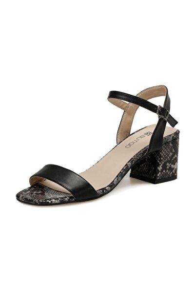 20S-552YG Siyah Kadın Sandalet 100517417