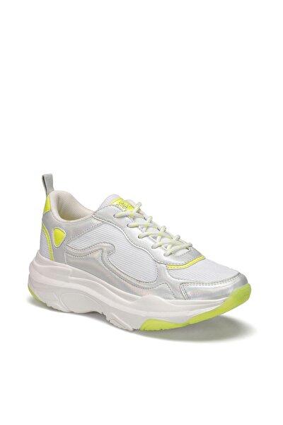 LORY Beyaz Kadın Kalın Taban Sneaker Spor Ayakkabı 100504765