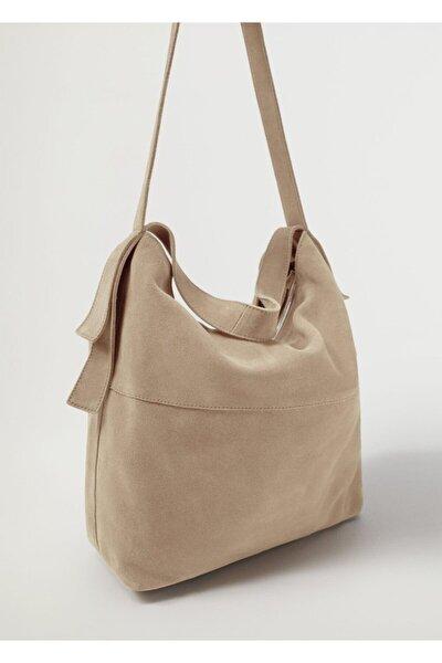 Deri Bucket Çanta