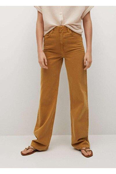 Kadın Kahverengi Jeans