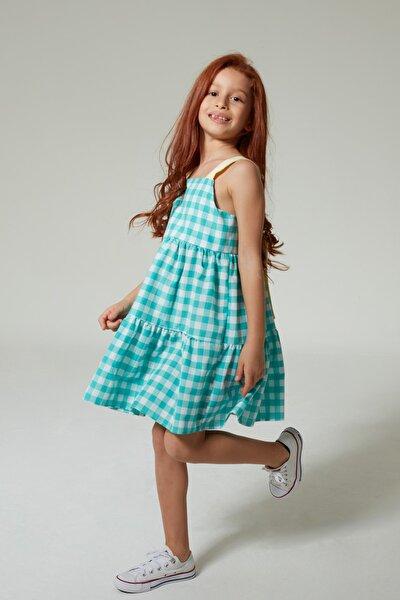 Çocuk Heidi Elbise Nil Yeşili