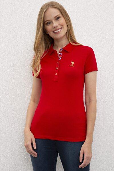 Us Polo Assn. Kadın Basic Yakalı Tshırt