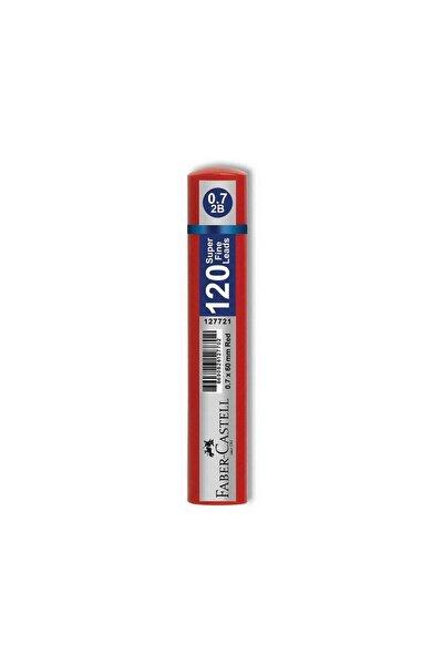 Kırmızı Tüp Grip Min 0,7 2b 60 mm 120'li