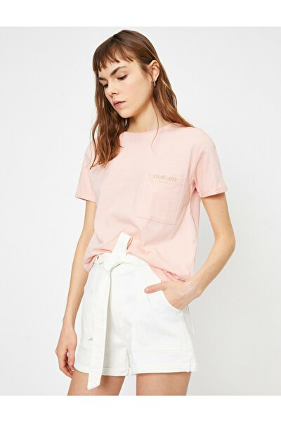 Cep Detayli T-shirt