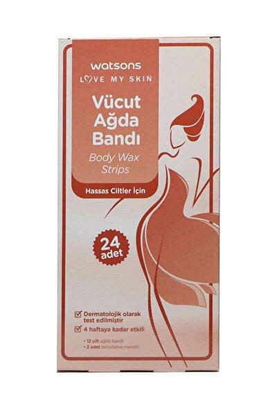 Body Wax Strips 24pcs For Sensitive Skin 2399900906016