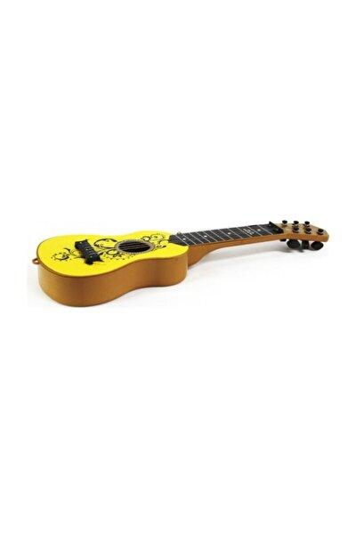 Ispanyol Gitar Sarı Renk Müzik Aleti
