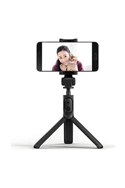 Bluetooth Kumandalı Orjinal Selfie Çubuğu - Monopod - Tripod Siyah