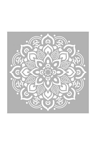 Mandala 5 Stencil Tasarımı 30 X 30 cm