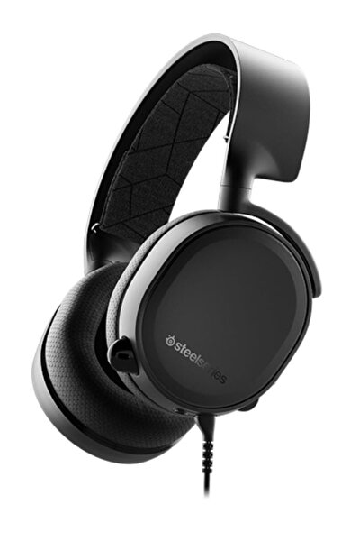 Arctis 3 Oyuncu Kulaklık - PC, PS, Xbox, Nintendo Switch, VR, Android ve iOS - Siyah