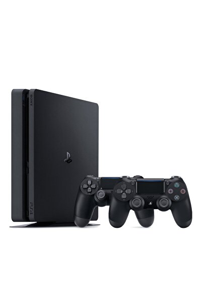 Playstation 4 Slim 500 GB - Türkçe Menü + 2. PS4 Kol
