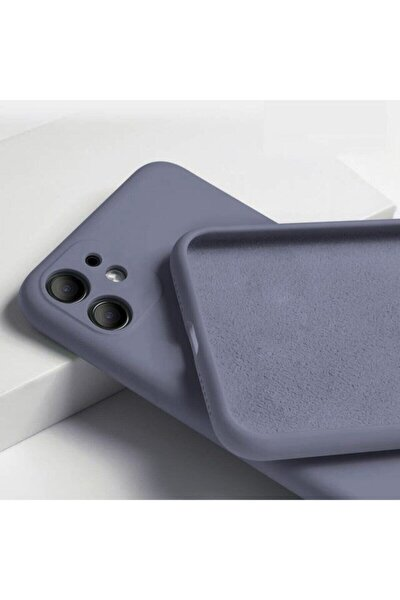 """Iphone 11 6.1"""" 3d Kamera Korumalı Içi Kadife Lansman Silikon Kılıf"""