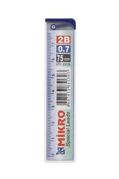 Mikro Min 3 Paket 0.7 Cetvelli Kalem Ucu 75 Mm 2b 3 Paket ( Kırtasiye)