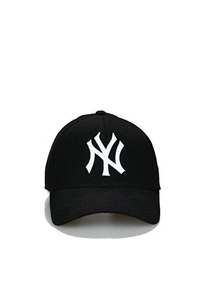 Ny New York Şapka Unisex Siyah Şapka